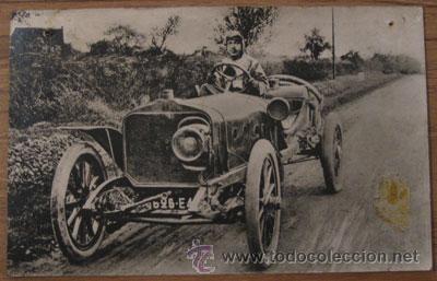 POSTAL GRAN PRIX ACF 1906 EDITADA FIVA EN 1969 COMEMORATIVA BICENTENARIO FARDIER DE CUGNOT (Postales - Postales Temáticas - Conmemorativas)