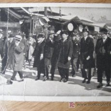 Postales: FERIA EXPOSICION INTERNACIONAL MUESTRARIA DE MILAN. 1928. LA VISITA DE BENITO MUSSOLINI. ESCRITA. Lote 24702467