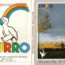 Postales: LOTE DE POSTALES EXPO 92. Lote 18633529