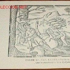 Postales: ANTIGUA POSTAL - RECUERDO DEL TERCER CENTENARIO DE LA MUERTE DE CERVANTES - 1916 - Nº 16 REIMPRESIO. Lote 2490876
