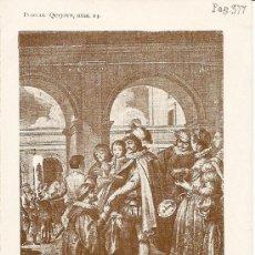 Postales: POSTAL DON QUIJOTE Nº 23 - PROPIEDAD DE A. PEREZ ASENSIO - SIN CIRCULAR - PRINCIPIOS S. XX . Lote 27433130