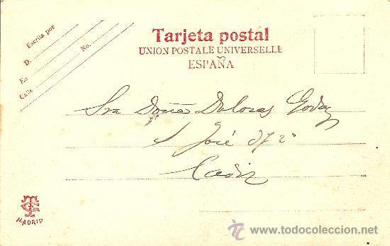 Postales: POSTAL DON QUIJOTE - UNION POSTALE UNIVERSELLE - SIN CIRCULAR Y MANUSCRITA - PRINCIPIOS S. XX - Foto 2 - 27316018