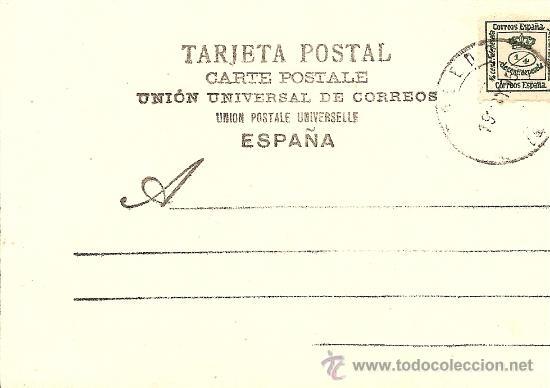 Postales: POSTAL DON QUIJOTE - FECHADA AÑO 1905 - Foto 2 - 21483853