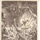 Postales: POSTAL DON QUIJOTE - FECHADA AÑO 1905. Lote 27456563