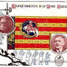 Postales - POSTAL CATALANISTA EX PRESIDENTS D'LA UNIO CATALANISTA EDITADA PER LA UNIO CATALANISTA - 11262515