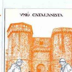 Postales - POSTAL CATALANISTA UNIO CATALANISTA EDITADA PER UNIO CATALANISTA - 11262518