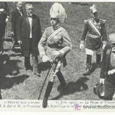 Postales: TARJETA POSTAL FOTOGRAFICA DE LA VISITA DE ALFONSO XIII A PARIS 1905 - Nº 50 - MONARQUIA. Lote 12229356