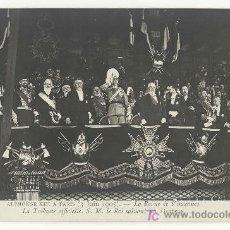 Postales: TARJETA POSTAL FOTOGRAFICA DE LA VISITA DE ALFONSO XIII A PARIS 1905 - Nº 52 - MONARQUIA. Lote 12229410