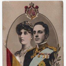 Postales: POSTAL DEL REY ALFONSO XIII .- COLOREADA. Lote 14216392