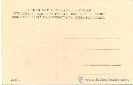 Postales: *POST 182 - POSTAL NO CIRCULADA: FIRMA E. HOMBRE CON MONO - FELIZ AÑO NUEVO - Nº 304 - Foto 3 - 25496119