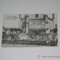 Postales: 2. BODAS REALES . SALIDA DE LOS JERÓNIMOS DE D. FERNANDO Y Dª MARÍA TERESA . CIRCULADA 1906 . Lote 16181674