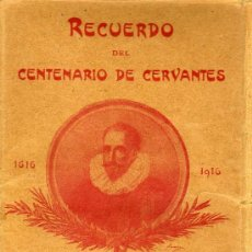 Postales: EL QUIJOTE - MAGNIFICA COLECCION DE 25 POSTALES - RECUERDO DEL CENTENARIO DE CERVANTES 1616 - 1916. Lote 18957852