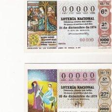 Postales: LOTERIA NACIONAL - SERIE N - 1981 - COMPLETA EN SU SOBRE ORIGINAL. Lote 20087475