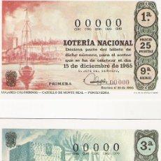 Postales: LOTERIA NACIONAL - SERIE S HISPANIDAD - 1983 - COMPLETA EN SU SOBRE ORIGINAL. Lote 20087644