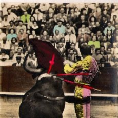 Postales: POSTAL DE TOROS. ( MANOLETE). Lote 19149606