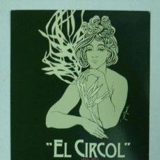 Postales: EL CIRCOL. 1852-1977. 125 ANIVERSARY REUS. CARTELL ANUNCIADOR DE LES FESTES DEL 125 ANIVERSARI. . Lote 19704663