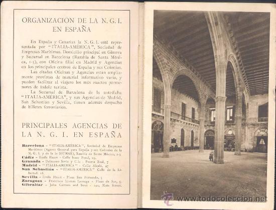 Postales: NAVIGAZIONE GENERALE ITALIANA.- EXPOSICIÓN INTERNACIONAL DE BARCELONA 1929. - Foto 2 - 19801147