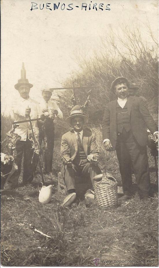 PS3113 POSTAL FOTOG. DE 1932, EN RECUERDO A LOS MARINOS DEL 'JUAN SEBASTIÁN ELCANO', EN ARGENTINA (Postales - Postales Temáticas - Conmemorativas)