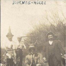 Postales: PS3113 POSTAL FOTOG. DE 1932, EN RECUERDO A LOS MARINOS DEL 'JUAN SEBASTIÁN ELCANO', EN ARGENTINA. Lote 19940614