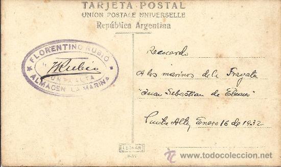 Postales: PS3113 POSTAL FOTOG. DE 1932, EN RECUERDO A LOS MARINOS DEL 'JUAN SEBASTIÁN ELCANO', EN ARGENTINA - Foto 2 - 19940614