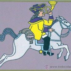 Postales: 500 ANIVERSARIO DEL CORREO ALEMAN 1990 POSTAL CONMEMORATIVA CARTERO RAPIDO DEL SIGLO XVIII UX. Lote 20650140