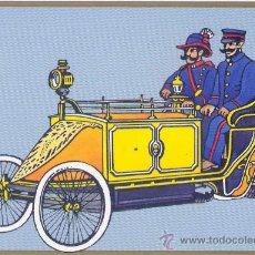 Postales: 500 ANIVERSARIO DEL CORREO ALEMAN 1990 POSTAL CONMEMORATIVA USANDO VEHICULO EN BERLIN 1900 UX. Lote 20650156