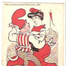 Postales - POSTAL CATALANISTA FESTAS SOLIDARITAT CATALANA 1906 - 21413469