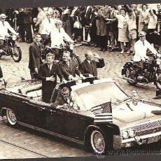 Postales: POSTAL * BERLIN - VISITA DE J.F.KENNEDY - AÑO 1963 *. Lote 103508186
