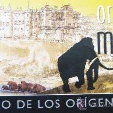 Postales: DÍPTICO-INVITACIÓN EXPOSICIÓN 'ORÍGENES DE MADRID', MUSEO DE LOS ORÍGENES, MADRID, 2009, IMPECABLE. Lote 27224374