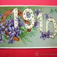 Postales: POSTAL CONMEMORATIVA DEL AÑO 1910. Lote 23705098