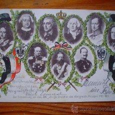 Postales: 1901 - DEUTSCHES REICH - EN CONMEMORACIÓN DEL 200 ANIVERSARIO DE PRUSIA (1701 A 1901) - CIRCULADA . Lote 26766376