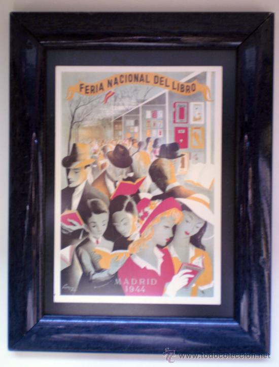 FERIA INTERNACIONAL DE LIBRO - MADRID 1944 (Postales - Postales Temáticas - Conmemorativas)