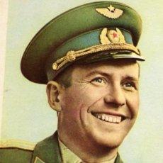 Postales: PAVEL POPOVICH COSMONAUTA RUSO EDITADA EN RUSIA 1962 SIN CIRCULAR . Lote 27708568