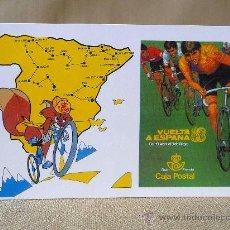 Postales: POSTAL, POSTAL CONMEMORATIVA, VUELTA A ESPAÑA, GARN PREMIO CAJA POSTAL, 1983. Lote 27783841