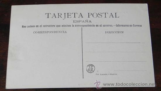 Postales: ANTIGUA POSTAL DE BODAS REALES N.2 - LLEGADA DEL TREN REAL AL PLANTIO, CERCA DE EL PARDO - FOT. LACO - Foto 2 - 27774860