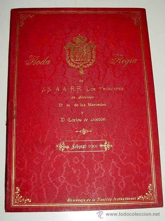 Postales: ANTIGUA PUBLICACION BODA REGIA DE SS. AA. RR. LOS PRINCIPES DE ASTURIAS D.M. DE LAS MERCEDES Y D. CA - Foto 2 - 27898757