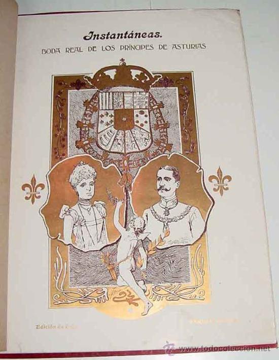 Postales: ANTIGUA PUBLICACION BODA REGIA DE SS. AA. RR. LOS PRINCIPES DE ASTURIAS D.M. DE LAS MERCEDES Y D. CA - Foto 3 - 27898757