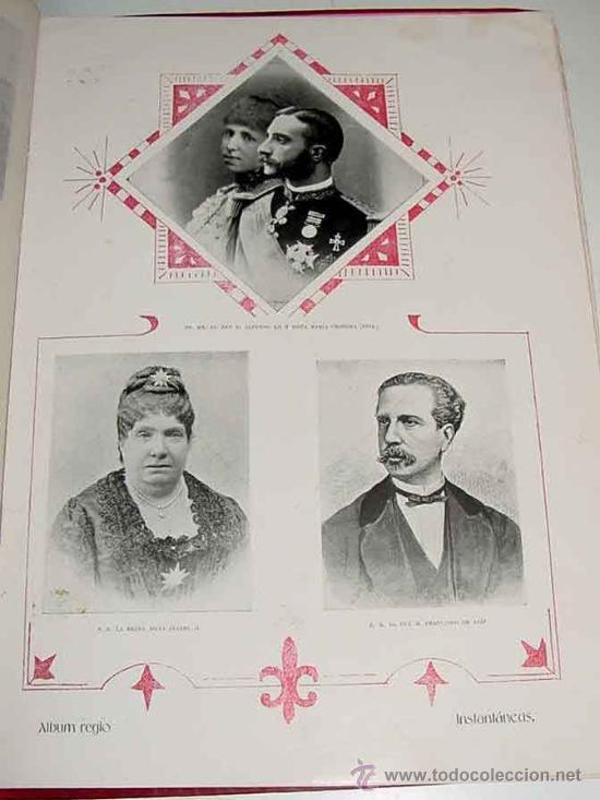 Postales: ANTIGUA PUBLICACION BODA REGIA DE SS. AA. RR. LOS PRINCIPES DE ASTURIAS D.M. DE LAS MERCEDES Y D. CA - Foto 6 - 27898757