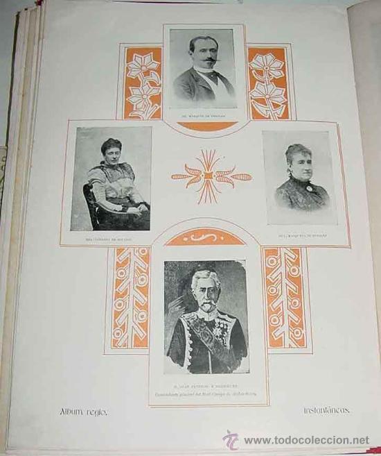 Postales: ANTIGUA PUBLICACION BODA REGIA DE SS. AA. RR. LOS PRINCIPES DE ASTURIAS D.M. DE LAS MERCEDES Y D. CA - Foto 8 - 27898757