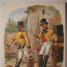 Postales: 2 CARTERO POSTILLIONE ESCENA DEL AÑO 1850 ALEMANIA GERMANY - MAS DE ESTE TIPO EN MI TIENDA. Lote 28738378