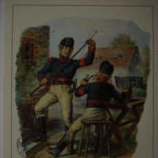 Postales: 6 CARTERO POSTILLIONE ESCENA DEL AÑO 1820 ALEMANIA GERMANY - MAS DE ESTE TIPO EN MI TIENDA. Lote 28738425