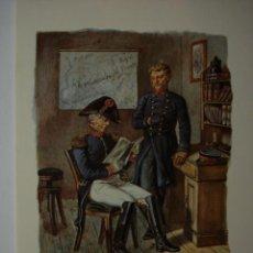 Postales: 9 CARTERO POSTILLIONE ESCENA DEL AÑO 1850 ALEMANIA GERMANY - MAS DE ESTE TIPO EN MI TIENDA. Lote 28738443