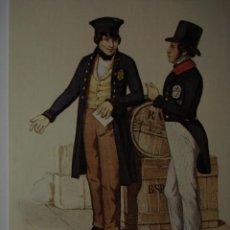 Postales: 12 CARTERO POSTILLIONE ESCENA DEL AÑO 1840 ALEMANIA GERMANY - MAS DE ESTE TIPO EN MI TIENDA. Lote 28738466