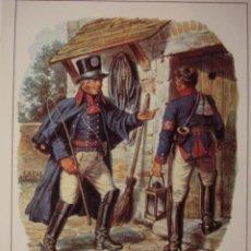 Postales: 16 CARTERO POSTILLIONE ESCENA DEL AÑO 1820 ALEMANIA GERMANY - MAS DE ESTE TIPO EN MI TIENDA. Lote 28738479