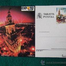 Postales: SEVILLA-LA GIRALDA-EXPO 92. Lote 29405647