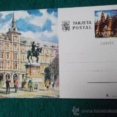 Postales: MADRID-PLAZA MAYOR. Lote 29405730