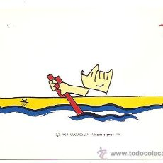 Postales: POSTAL COLECCIÓN OLÍMPICA BARCELONA'92 Nº 33 – COBI REMO. Lote 198404786