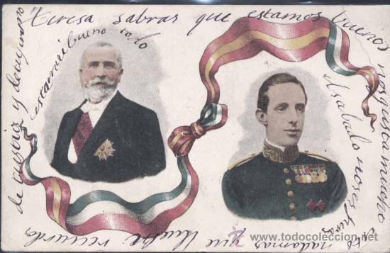 POSTAL DE D. ALFONSO XIII (Postales - Postales Temáticas - Conmemorativas)