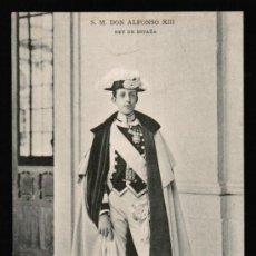 Postales: POSTAL S.M. DON ALFONSO XIII - HAUSER Y MENET . SERIE 420. Lote 30987566