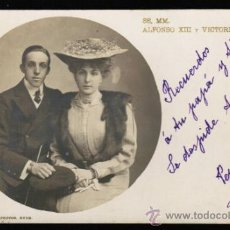 Postales - POSTAL SS.MM. ALFONSO XIII Y VICTORIA EUGENIA - HUGUES & MULLINS . - 30987831